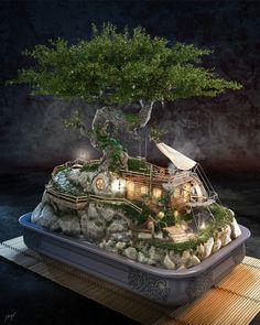BONSAI by Jose Klaus Gonzalez Rohbrandt | Fantasy | 3D | CGSociety