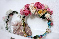 Corona de flores F&P