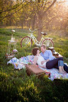 Picnic & Forest Engagement Session in Bella Vista, AR » Angela J Martin Photography Blog