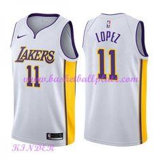 Los Angeles Lakers NBA Trikot Kinder 2018-19 Brook Lopez 11  Association  Edition Basketball e029ca908