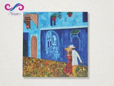 Limited Edition and it will sell out fast. Grab it now! #NamitasArtworx Product - A DAY IN #MOROCCO A couple is roaming around in #Chefchaouen, a town known as Morocco's Blue Pearl. It's a charming place with calm and mesmerising blue walls. Click here for more Details & Price - http://www.namitasartworx.com/a-day-in-morocco.html
