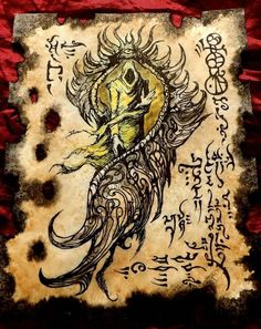 THE KING IN YELLOW Necronomicon Fragments cthulhu larp  occult monster dark art