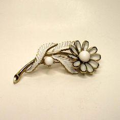 FREE U S. Shipping Vintage Trifari Flower by RetroVintageBazaar, $22.00