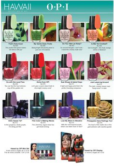 Hawaii Collection by OPI | Nailderella