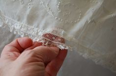 The Old Fashioned Baby Sewing Room: Vintage Christening Gown