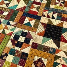 (One of Kim Diehl's quilts) Star Quilt Blocks, Star Quilts, Scrappy Quilts, Quilt Block Patterns, Mini Quilts, Primitive Quilts, Civil War Quilts, Sampler Quilts, Pattern Pictures