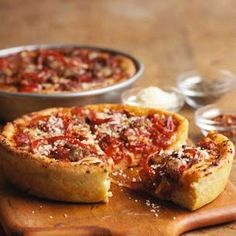 Deep Dish Pizzas - this dough is fantastic! You can put whatever toppings you like.