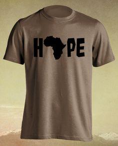 Africa Hope Continent Reggae Music Rasta Men Ladies by ElephanTees