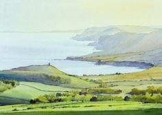 Oliver Pyle |  Sítě umělců  Atmosféra malby v krajině  Akvarelové techniky
