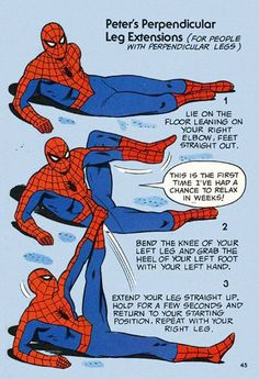 If Spiderman can do it, you can do it too!