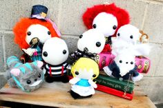 Alice in Wonderland Plush and Functional Art Collection