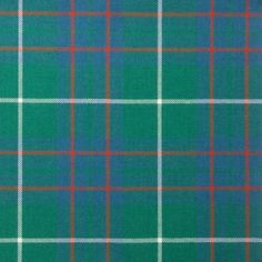 MacIntyre Hunting Ancient Lightweight Tartan by the meter MacA-MacN – Tartan Shop