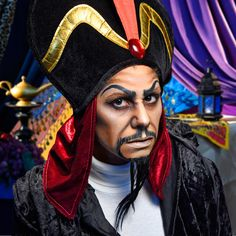Jafar | Watch One Woman Transform Into 7 Disney Characters In 90 Seconds