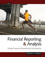 Solution manual for Financial Reporting and Analysis Using Financial Accounting Information 12th Edition by Gibson ISBN1439080607 9781439080603 INSTRUCTOR SOLUTION MANUAL VERSION  http://solutionmanualonline.com/product/solution-manual-financial-reporting-analysis-using-financial-accounting-information-12th-edition-gibson-isbn1439080607-9781439080603-instructor-solution-manual-version/