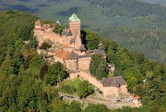Alsace Château du Haut-Koenigsbourg - Orschwiller