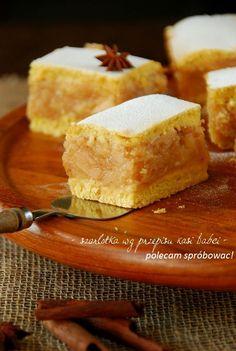 Szarlotka wg przepisu Kasi Babci Baby Food Recipes, Sweet Recipes, Cake Recipes, Dessert Recipes, Cooking Recipes, Polish Desserts, Polish Recipes, European Dishes, Delicious Deserts