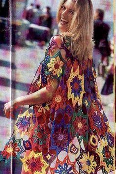 Colorful flower duster luxury beach kimono knee length cover up sexy beachwear gipsy lace Bunte Blume Staubtuch Luxus Strand Kimono knielangen Abdeckung Crochet Coat, Crochet Lace Dress, Crochet Cardigan, Crochet Clothes, Cardigan Pattern, Jacket Pattern, Beach Kimono, Long Kimono, Strand Kimono