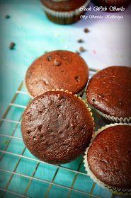 EGGLESS CHOCOLATE CUPCAKE RECIPE/EGGLESS CHOCOLATE MUFFIN RECIPE | Cook With Smile