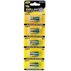 5pk A28PX 6V Alkaline Battery Replaces Energizer A544BP A544, Duracell 28A Eveready L544 A544, Panasonic 4LR44 4SR44 4G13, Kodak K28A K28L, Varta V34PX V28PXL, Maxell 4LR44P 4SR44 731305 #Alkaline #Battery #Replaces #Energizer #Duracell #Eveready #Panasonic #Kodak #Varta #VPXL, #Maxell
