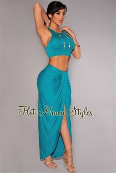 Jade Cascading Two Piece Set