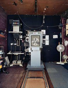 'Roy Bass darkroom, Michael Dyer Associates, Covent Garden'.....