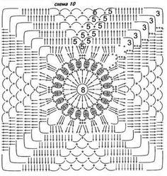 143 besten Häkeln Big Square Crochet Bilder auf Pinterest