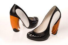 Tucano model Kobi Levi's Coveted Art Shoes