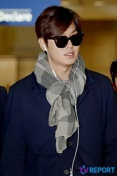 Lee Min Ho Dramas, Round Sunglasses, Mens Sunglasses, Incheon, International Airport, Minho, Korean Actors, Kdrama, Singer