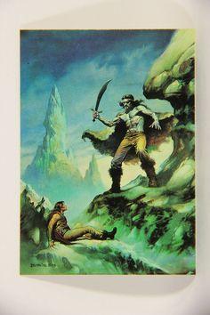 L010234 Boris Vallejo 1991 Card / Colossus - 1979 - Card #37 / ARTWORK
