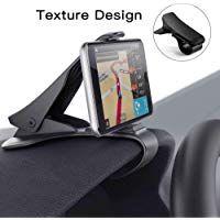 Samsung S8// S7 IZUKU Support Telephone Voiture Ventilation avec Smartphone et GPS Appareils 2 Pinces de Ventilation Rotation 360/° Universel pour iPhone X//S//Max// 8//7