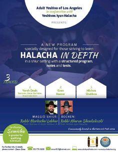 Halacha in Depth