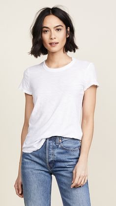 online shopping for James Perse Sheer Slub Crew Neck Tee from top store. See new offer for James Perse Sheer Slub Crew Neck Tee Pixie Cut Round Face, Pixie Haircut For Round Faces, Chin Length Bob, Look Girl, Short Bob Hairstyles, Neck Length Hairstyles, Casual Hairstyles, Pixie Haircuts, Medium Hairstyles