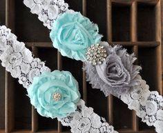 Wedding Garter Bridal Garter Set  Lace by somethingnewdesigns, $22.00