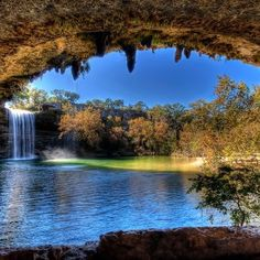 Austin, Texas- Hamilton pools near Lake Travis https://www.stopsleepgo.com/vacation-rentals/austin/travis/texas/united-states
