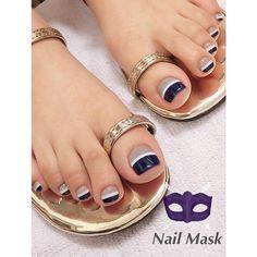 Pedicure Essentials and Designs Pretty Toe Nails, Cute Toe Nails, My Nails, Toe Nail Color, Toe Nail Art, Nail Colors, Fabulous Nails, Gorgeous Nails, Toenail Art Designs