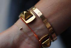 Cartier Love Bracelet & Skull