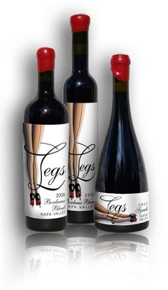 My favorite #wine label #design project! The lady winemakers are very tall. Cheers! | By Marcia Macomber, CornucopiaCreations.com