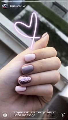 Nail art Christmas - the festive spirit on the nails. Over 70 creative ideas and tutorials - My Nails Nails Polish, Gelish Nails, Manicures, Nail Swag, How To Do Nails, Fun Nails, Gel Nagel Design, Nagel Gel, Simple Nails