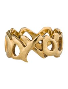Tiffany & Co. 18K Hugs and Kisses Band