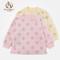 Детские рубашки из Китая :: Кара медведь младенцев, детей baby одежда Осень/Зима носить солнца мягкий белье для мужчин и женщин стеганые тепловой куртка 211.