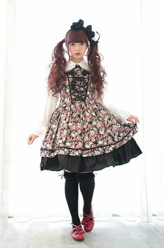 """Anyone can now be a Lolita fashion girl - """"Maison de Julietta"""" salon offers the full experience, from hair and makeup to a choice of dresses, complete with a photograph of your chosen look."""
