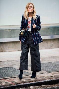 Sokak Stili: 2017 Sonbahar/Kış New York Moda Haftası 3. ve 4. Gün