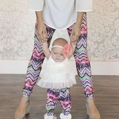 Baby & Mommy Matching Leggings $7.99 - http://www.pinchingyourpennies.com/baby-mommy-matching-leggings-7-99/ #Leggings