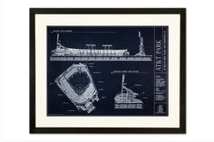 Our unique print captures the distinctive AT&T Park on McCovey Cove. Printed on museum quality paper and available unframed, framed, or on canvas.
