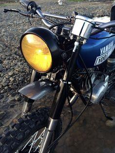 Bike Feature: Custom Yamaha by Arjay Bulwag from Valencia City, Bukidnon Yamaha 125, Yamaha Cafe Racer, Cafe Racers, Honda Cg125, Yamaha Rx100, Valencia City, Cute Posts, Street Tracker, Scrambler