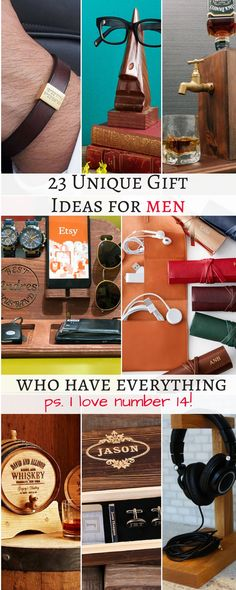 I love Valentines Day but it is so hard to buy gifts for men! I have compiled an ultimate list of 23 unique gift ideas for men who have everything! Gift ideas for men, gift ideas for men who have everything, gift ideas for men christmas, valentines gift i Diy Gifts For Friends Birthday, Bday Gifts For Him, Unique Birthday Gifts, Gifts For Husband, Boyfriend Birthday Gifts To Buy, Gifts For Uncles, Gifts For Nerds, Nerdy Gifts For Him, Birthday Presents