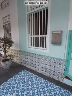 Shophouse of Singapore is where Isabel Redrup resides! We specialized on residential conservation, commercial house, bungalow and hotel for sale and rent. Soho Style, Shophouse, Studio Ideas, Portuguese, Conservation, Tiles, Asia, Kids Rugs, Home Decor