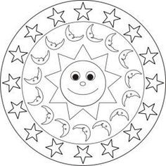 1000 Images About Mandalas Para Ni 241 Os On Pinterest