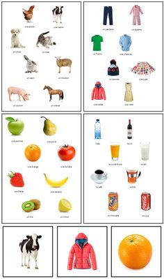 TAAL / FRANS: BEN IK EEN BANAAN / SUIS-JE UNE BANANE? Alle spelers hebben een kaartje aan hun voorhoofd hangen en moeten raden wat erop staat door ja/nee vragen te stellen aan de andere spelers. Om de spelers te helpen liggen in het midden kaarten met alle mogelijkheden op (in dit voorbeeld: dieren, kledingstukken, fruit en drinken). Leuk in het Nederlands, maar zeker ook bruikbaar in de lessen Frans!