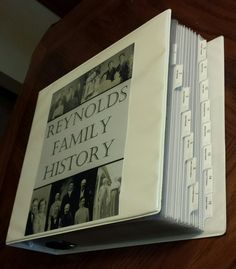 Family History Binder – Part 6 – Documents Family History Binder – Part 6 – Documents – Do As I'm Doing Family Tree Book, Family Tree Chart, Family History Book, Family Guy, Family Trees, Family Roots, Family Tree Projects, Genealogy Forms, Genealogy Chart